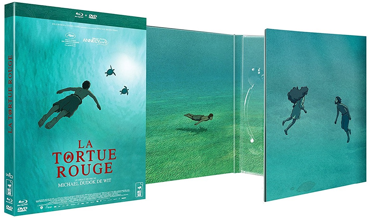 La Tortue Rouge The Red Turtle 2016 Digipak Blu Ray Forum