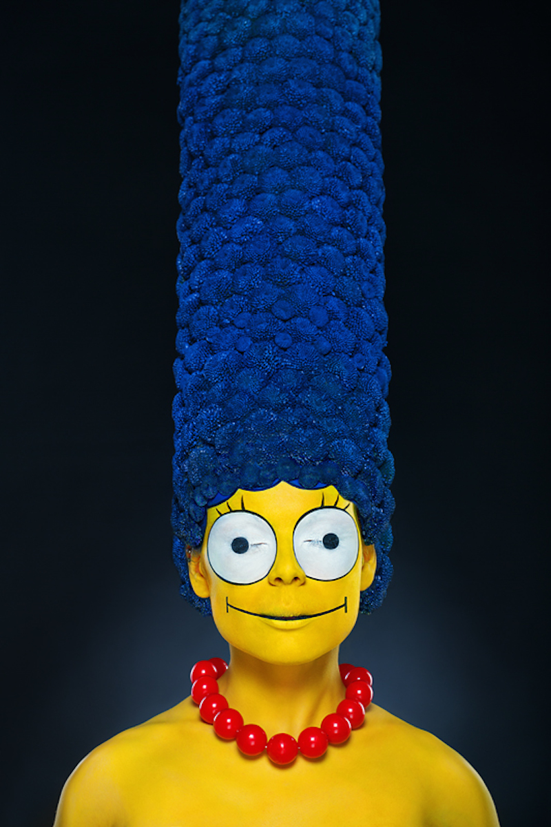 Marge Simpson IRL