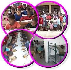 Imagens das Crianças da Casa Maria Clara