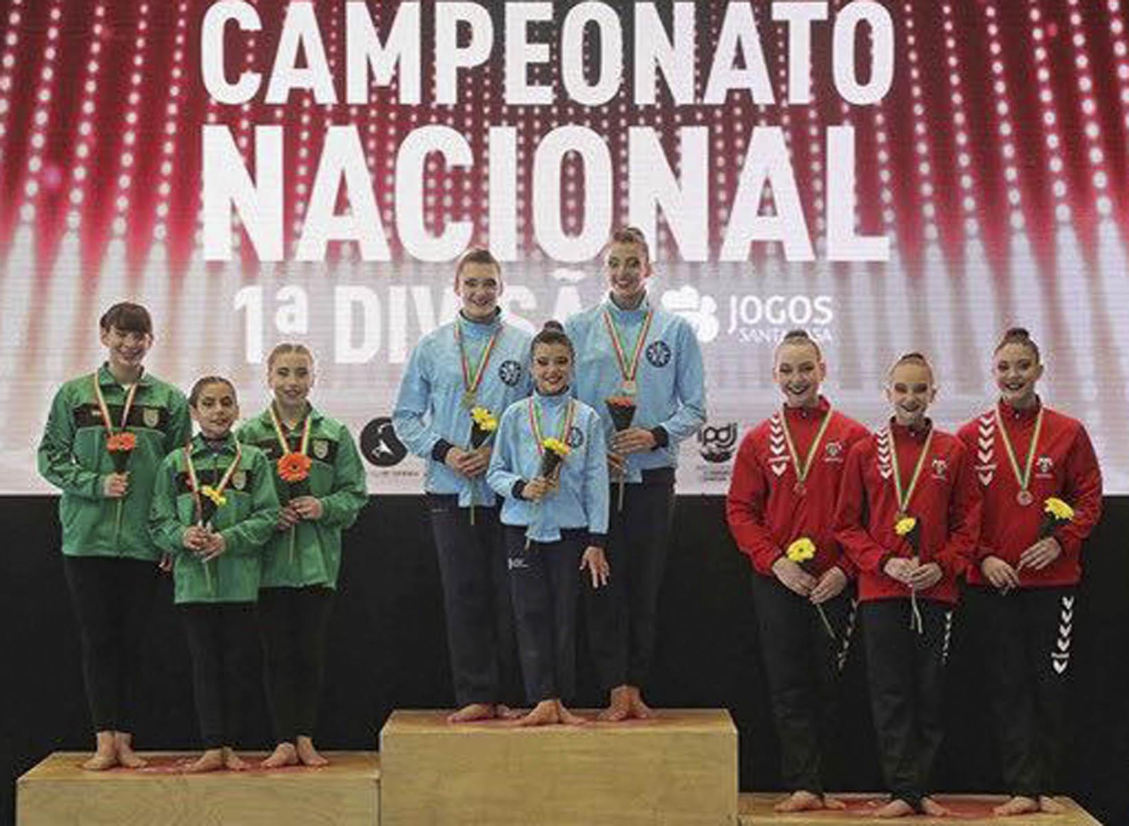 ATLETA RESIDENTE DO LINHÓ CAMPEÃ NACIONAL DE GINÁSTICA ACROBÁTICA