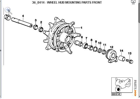 diy - mudar rolamentos roda r1150gs
