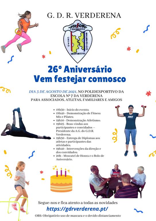 26º Aniversário